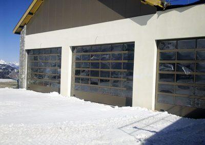 Porte sectionnelle vitrée 2
