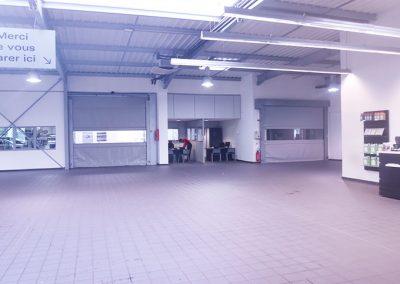 Porte souple garage