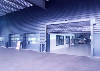 Porte souple rapide de garage