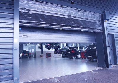 Porte souple pour garage