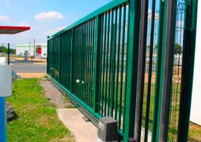 portail et barrière