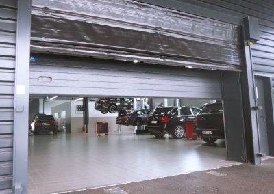 Porte souple - Concession automobile
