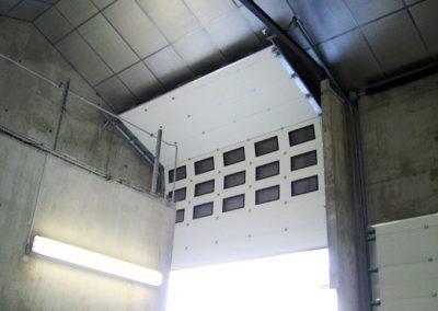 Porte sectionnelle FEA